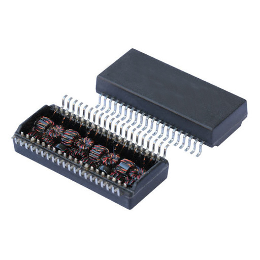 LAN-400 10/100 BASE T-Magnetics Module